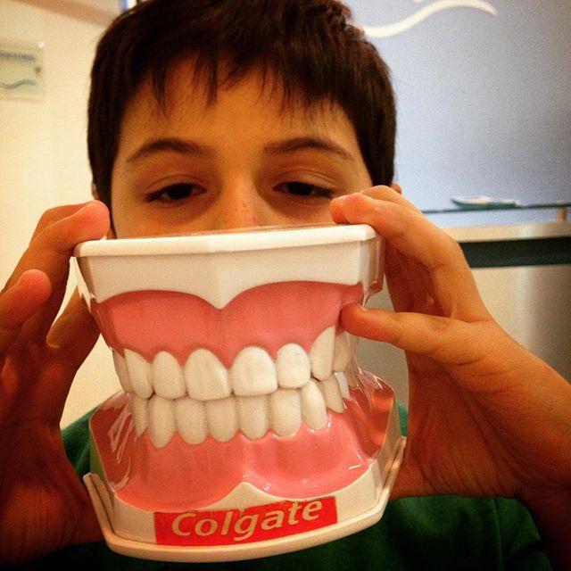Benja en dentista